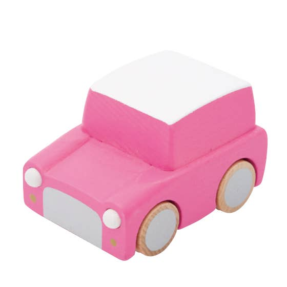 Kuruma Wind-Up Car - Pink