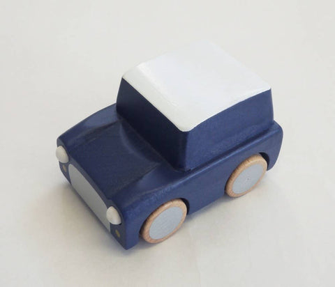 Kuruma Wind-Up Car - Navy