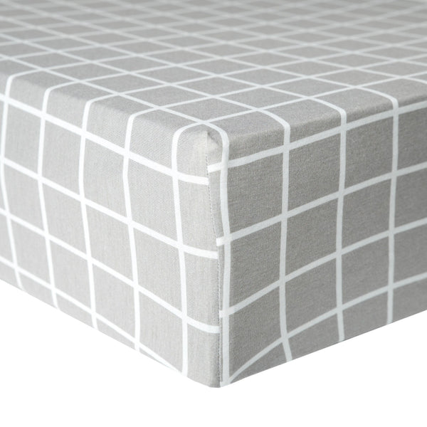 Premium Fitted Crib Sheet - Midway