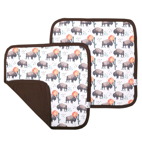 Security Blanket Set (2 Pack) - Bison