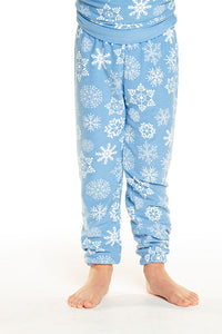 Cozy Knit Sweatpant - Bluebell