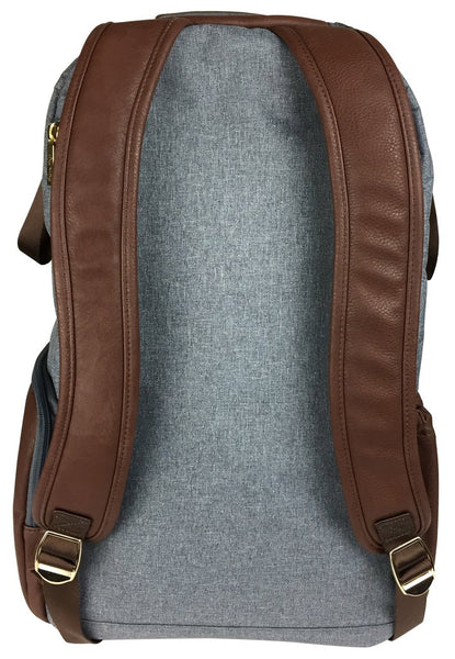 Diaper Bag Backpack - Handsome Heather Grey