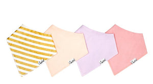 Bandana Bib Set (4 Pack) - Sweetheart