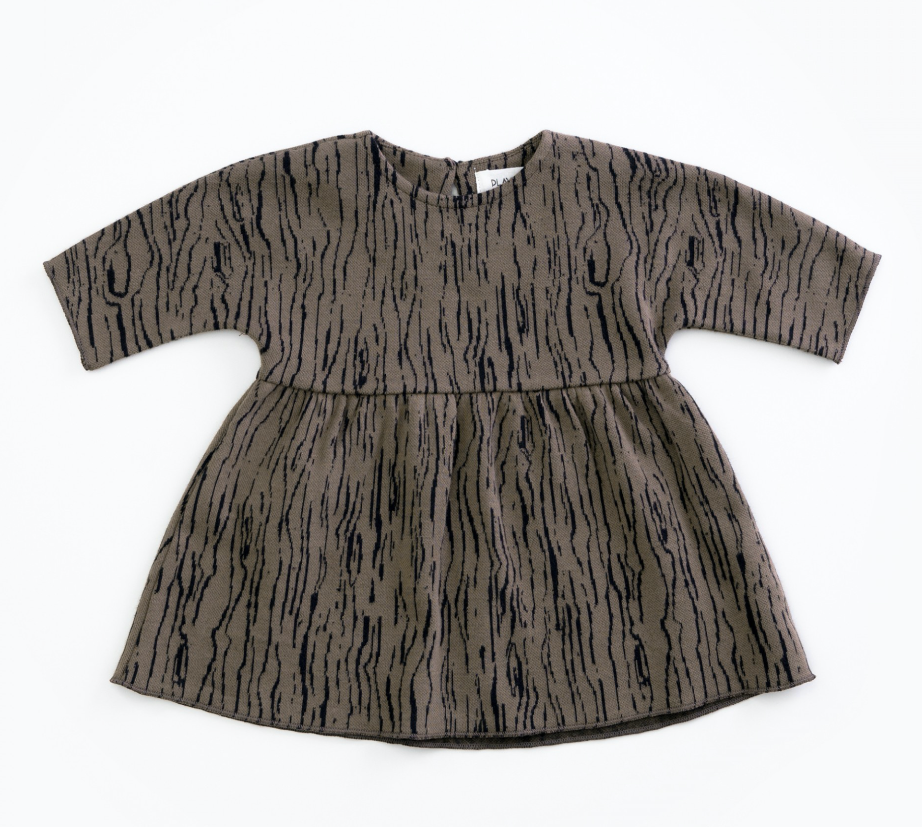 Jacquard Dress - Walnut
