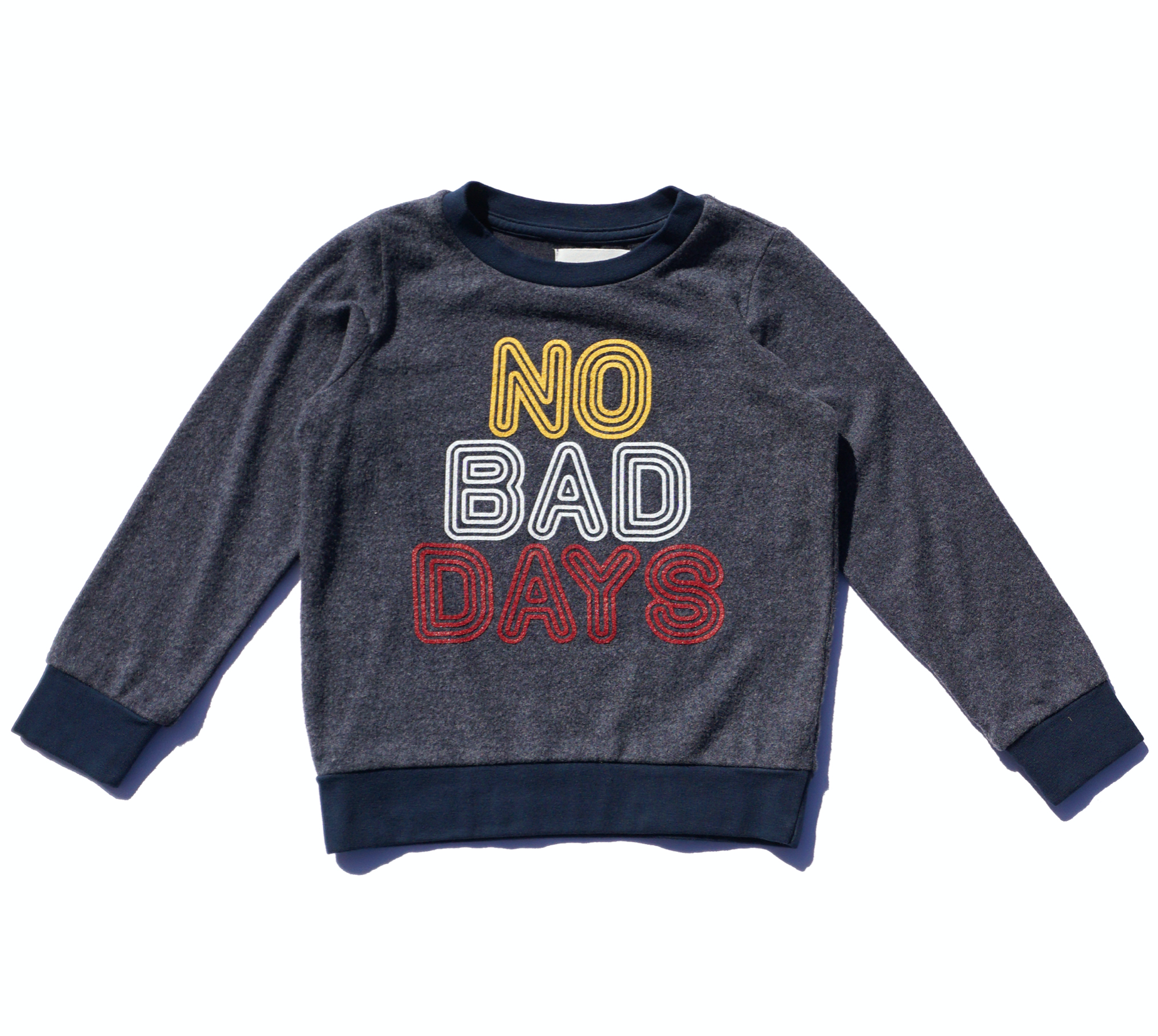 No Bad Days Pullover - Indigo