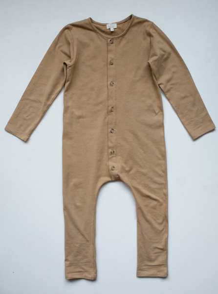 The Workman Playsuit - Camel