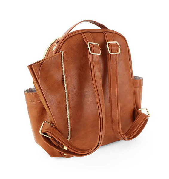 Itzy Mini Cognac Backpack