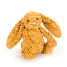 Bashful Saffron Bunny - Medium