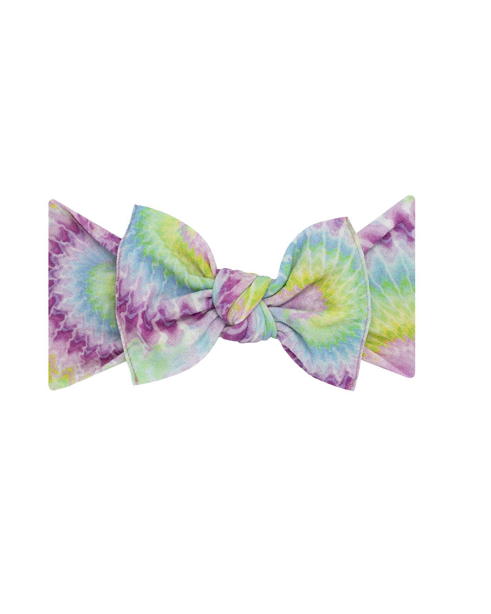 Printed Knotted Headband - Happy Hippie