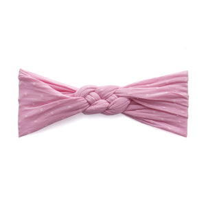 Bubblegum Dot Sailor Knot Dot Headband