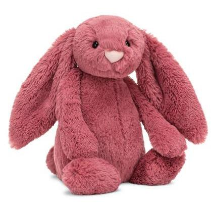 Bashful Dusty Pink Bunny - Medium