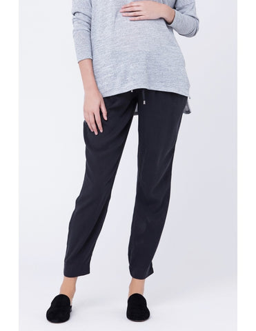 Tencel Weekend Pant - Soot