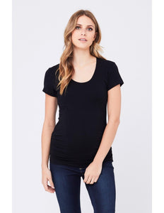 Tube Tee Short Sleeve - Black