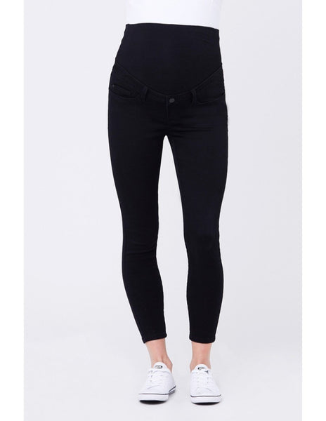 Rebel Ankle Grazer Jegging - Black