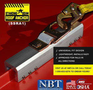 Standing Seam Roof Anchor: SSRA1