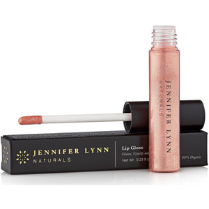 Natural Lip gloss | With Beeswax, Coconut Oil, Cocoa Butter | Lip Plumper for Chapped lips - Jennifer Lynn Naturals