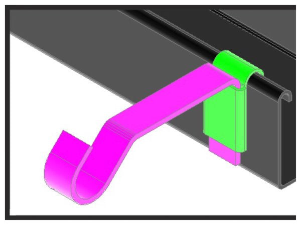 Curtain Clip Hanging Curtains Made Ez Curtain Clipcom