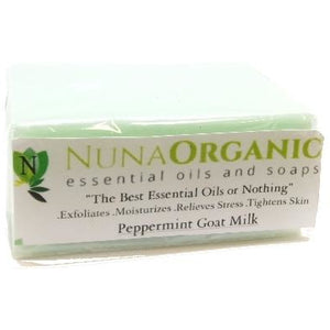 Soap Collection Peppermint Glycerin - Nuna Essential Oils