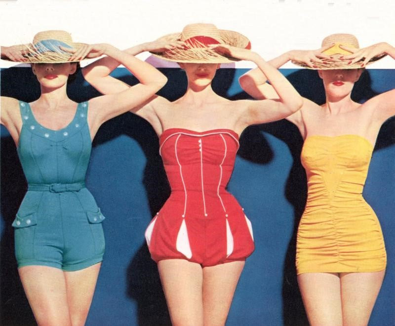 Our Favorite Swimwear Trends Throughout History