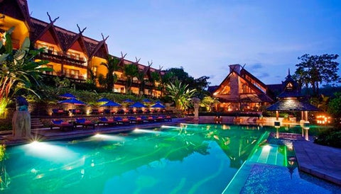 Anantara Golden Triangle Elephant Camp & Resort in Thailand