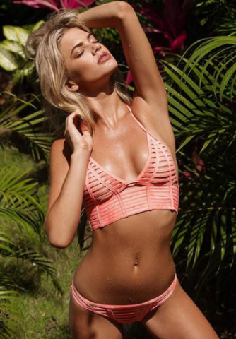 Hard Summer Longline Triangle Bikini
