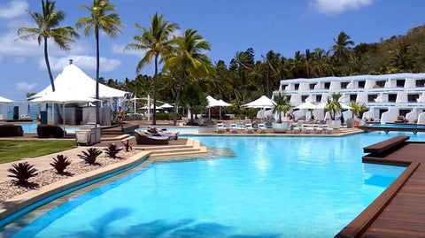 The Hayman Island resort in Australia1