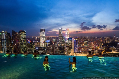 The Marina Bay Sands Hotel in Singapore1