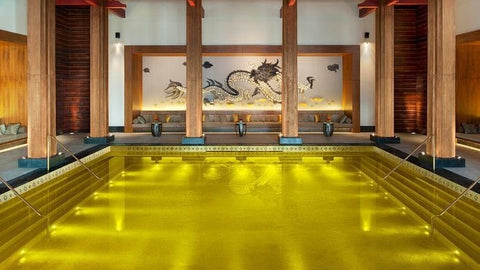 The St. Regis Lhasa Resort's Gold Energy Pool in Tibet