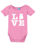 Alabama Love Onesie