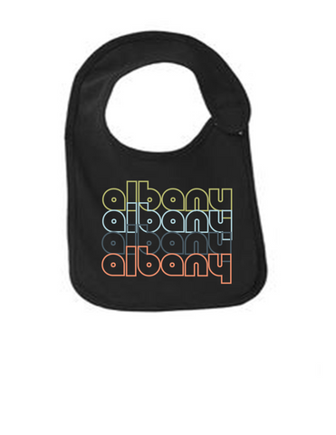 Albany-New-York-Retro-Funny-Infant-Jersey-Bib