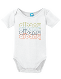 Albany New York Retro Onesie