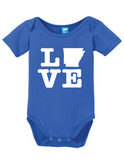 Arkansas Love Onesie