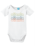 Atlanta Georgia Retro Onesie