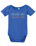 Atlantic City New Jersey Retro Onesie