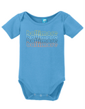 Baltimore Maryland Retro Onesie