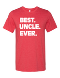 Best Uncle Ever LL 3001 Crewneck T-Shirt
