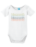 Bismarck North Dakota Retro Onesie