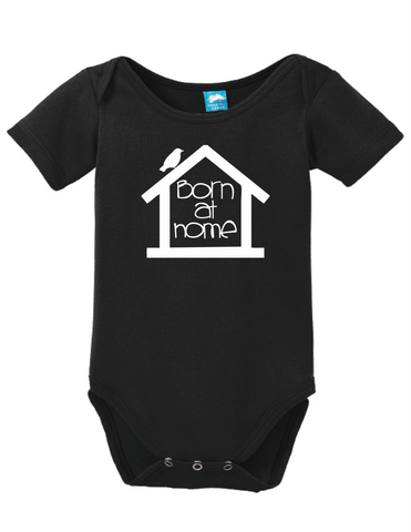5c159a9bb Born At Home Onesie Funny Bodysuit Baby Romper – LOL Baby