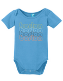 Boston Massachsetts Retro Onesie