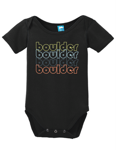 Boulder City Nevada Retro Onesie