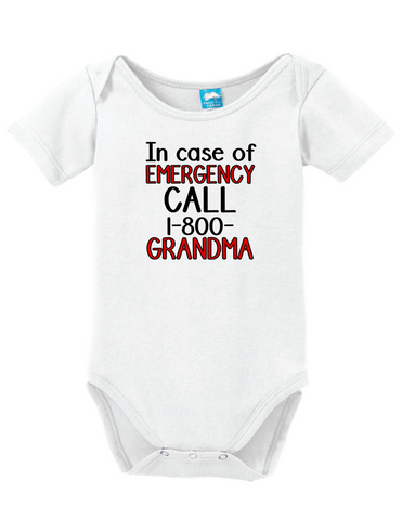 In Case of Emergency Call 1 800 Grandma