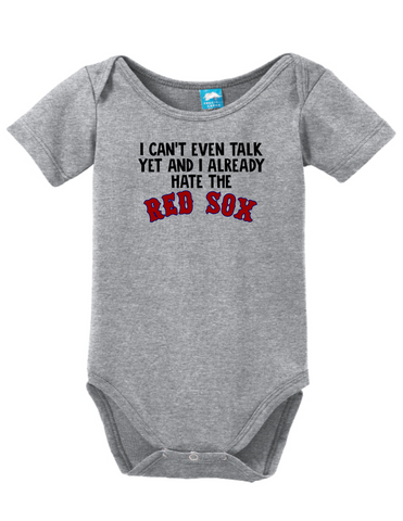 Cant Talk Already Hate The Red Sox