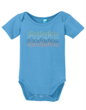 Charleston South Carolina Retro Onesie
