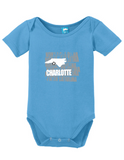 Charlotte North Carolina Onesie