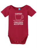 Coffee Challenge Accepted Onesie