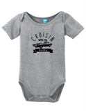 crusin with my daddy funny bodysuit baby romper