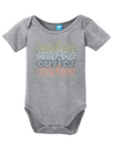 Custer South Dakota Retro Onesie Funny Bodysuit Baby Romper