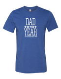 Dad Of The Year LL 3001  Crewneck T-Shirt