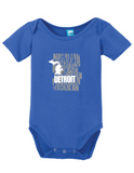 Detroit Michigan Onesie
