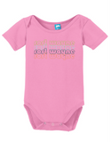 Fort Wayne Indiana Retro Onesie